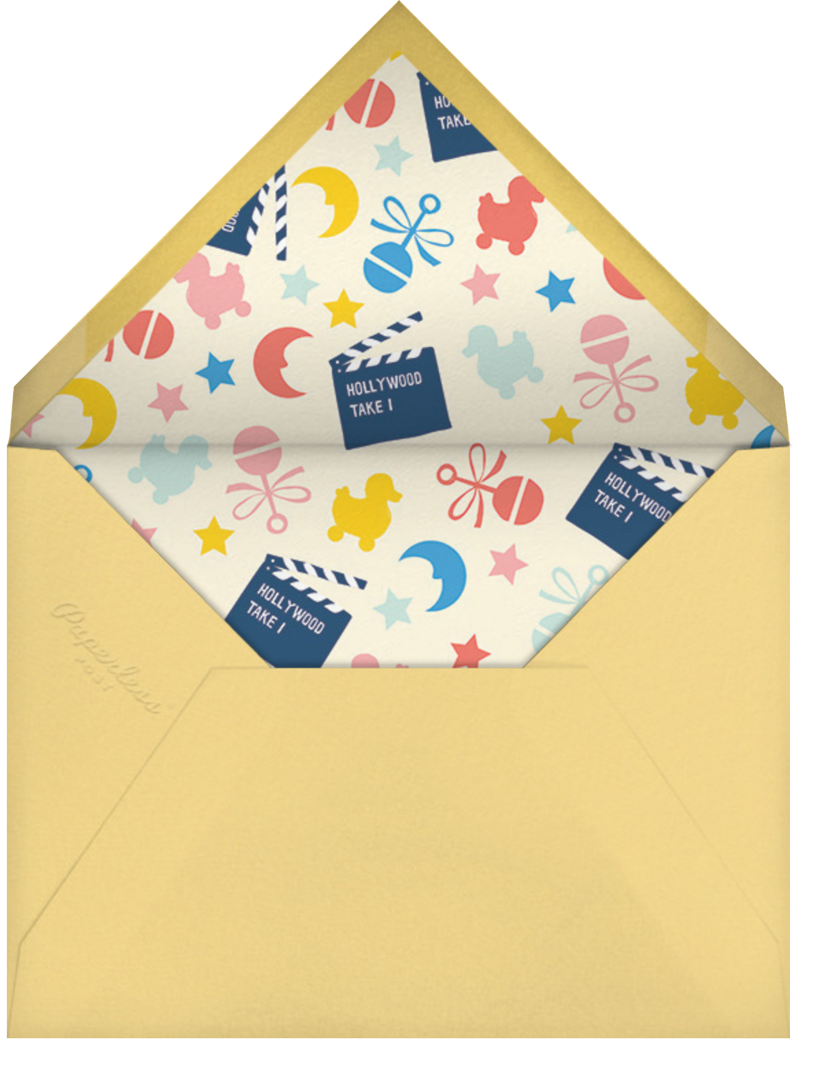 Act One - Cheree Berry - Baby shower - envelope back