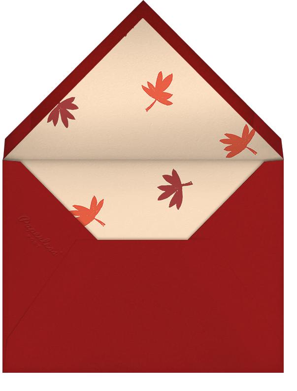 Fowl Weather (Greeting) - Paperless Post - Thanksgiving - envelope back