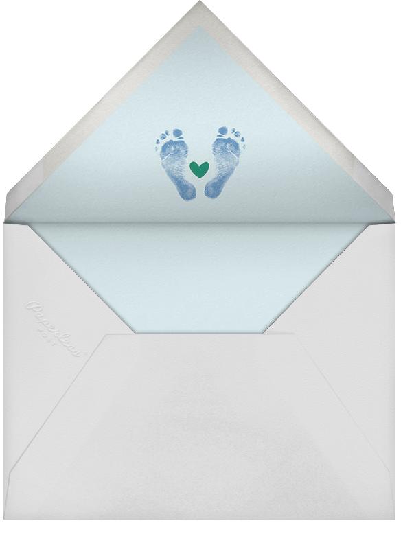 Head to Toe - Blue - Cheree Berry - Birth - envelope back