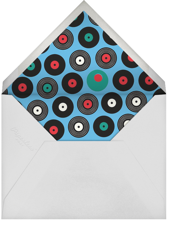 Party Mix - Cheree Berry - Adult birthday - envelope back