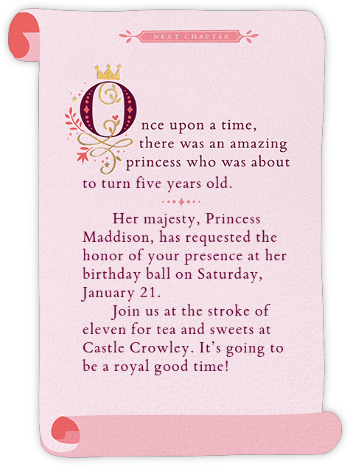 Party Proclamation - Cheree Berry - Online Kids' Birthday Invitations