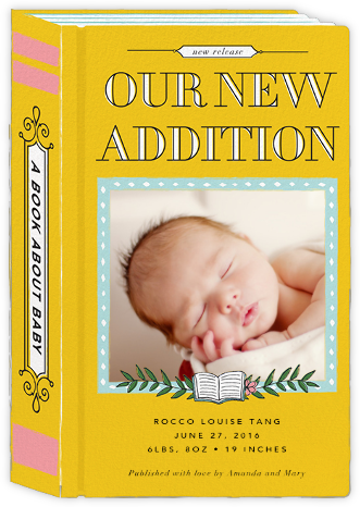 Chapter One (Photo) - Cheree Berry - Birth Announcements