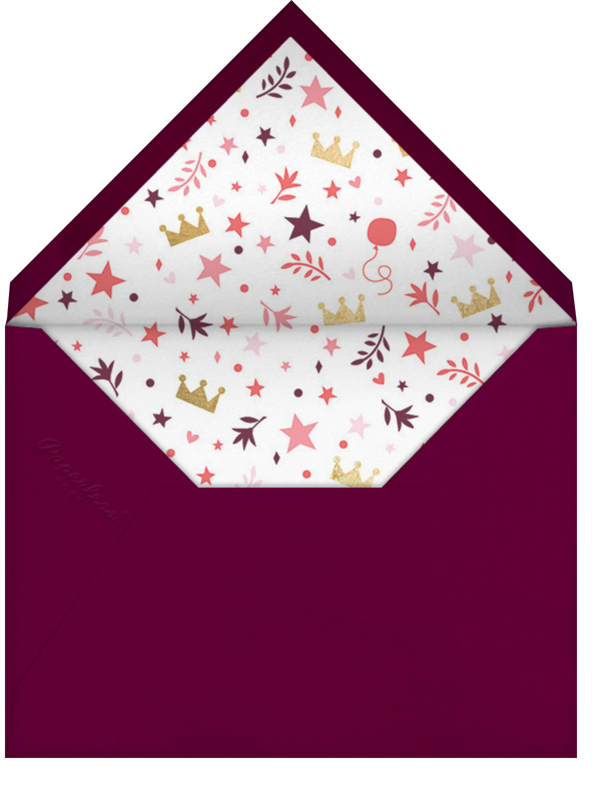 Fairy Tale Fete - White - Cheree Berry Paper & Design - Kids' birthday - envelope back