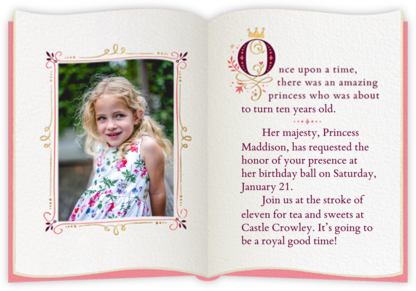 Fairy Tale Fete - White - Cheree Berry - Online Kids' Birthday Invitations