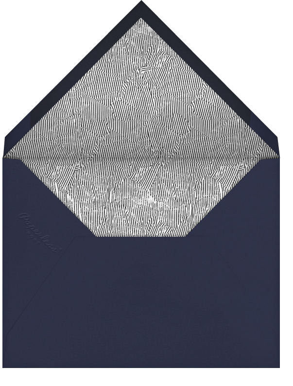 Bijou - Navy - Kelly Wearstler - Winter entertaining - envelope back