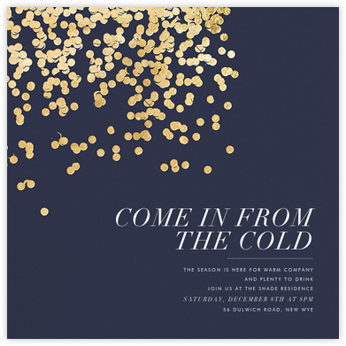 Bijou - Navy - Kelly Wearstler - New Year's Eve Invitations
