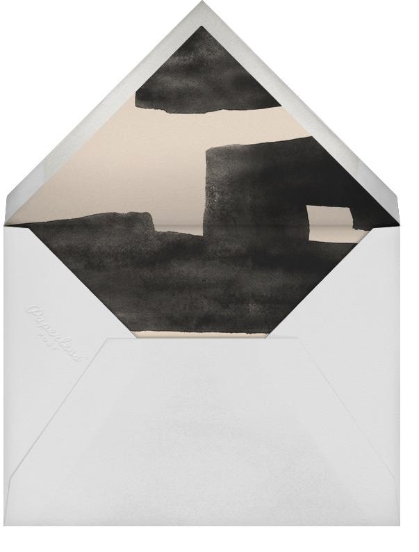 Plaster - Douglas - Kelly Wearstler - Winter entertaining - envelope back