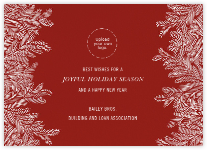 Red Fir - Paperless Post - Business Party Invitations