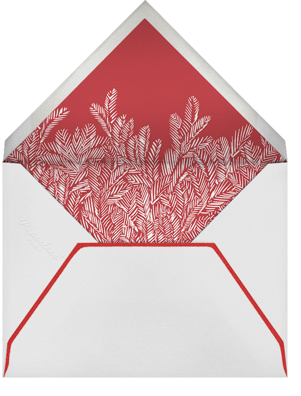 Red Fir - Paperless Post - Use your own logo - envelope back