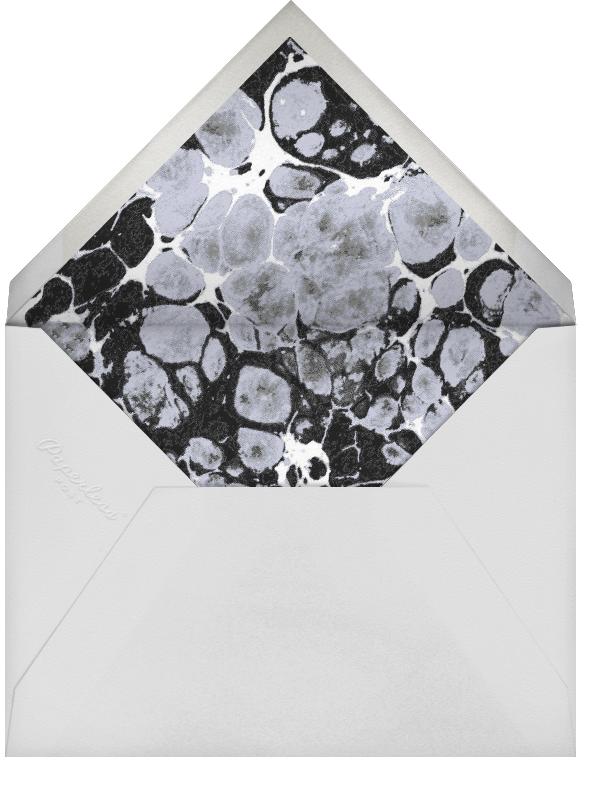 Stellar (Greeting) - Silver - Kelly Wearstler - Holiday cards - envelope back
