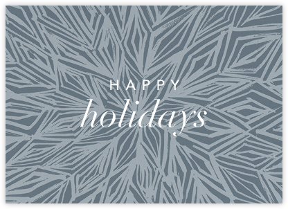 Stellar (Greeting) - Pacific - Kelly Wearstler - Holiday Cards