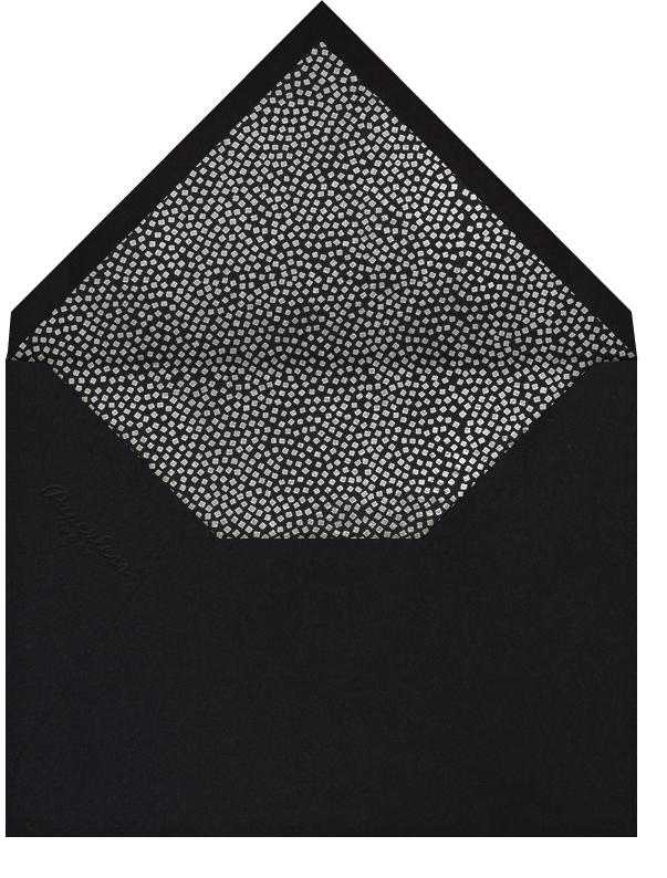 Konfetti (Horizontal Photo Save the Date) - Silver - Kelly Wearstler - Photo  - envelope back