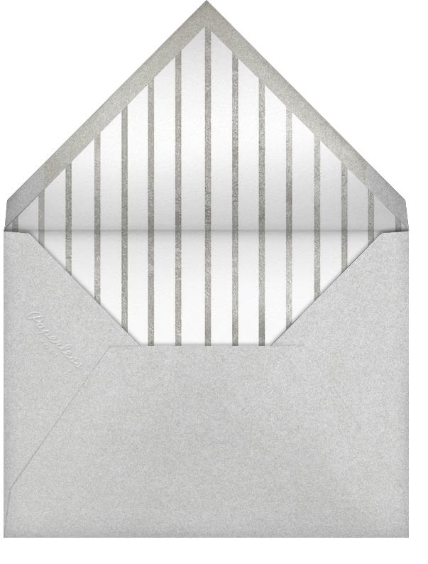Season's Greetings Script - Paperless Post - Use your own logo - envelope back