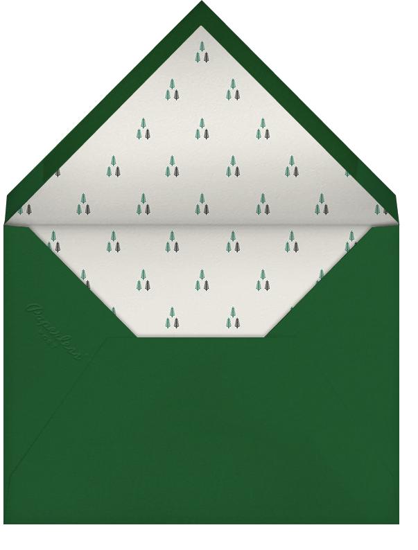 Cream - Paperless Post - Christmas - envelope back