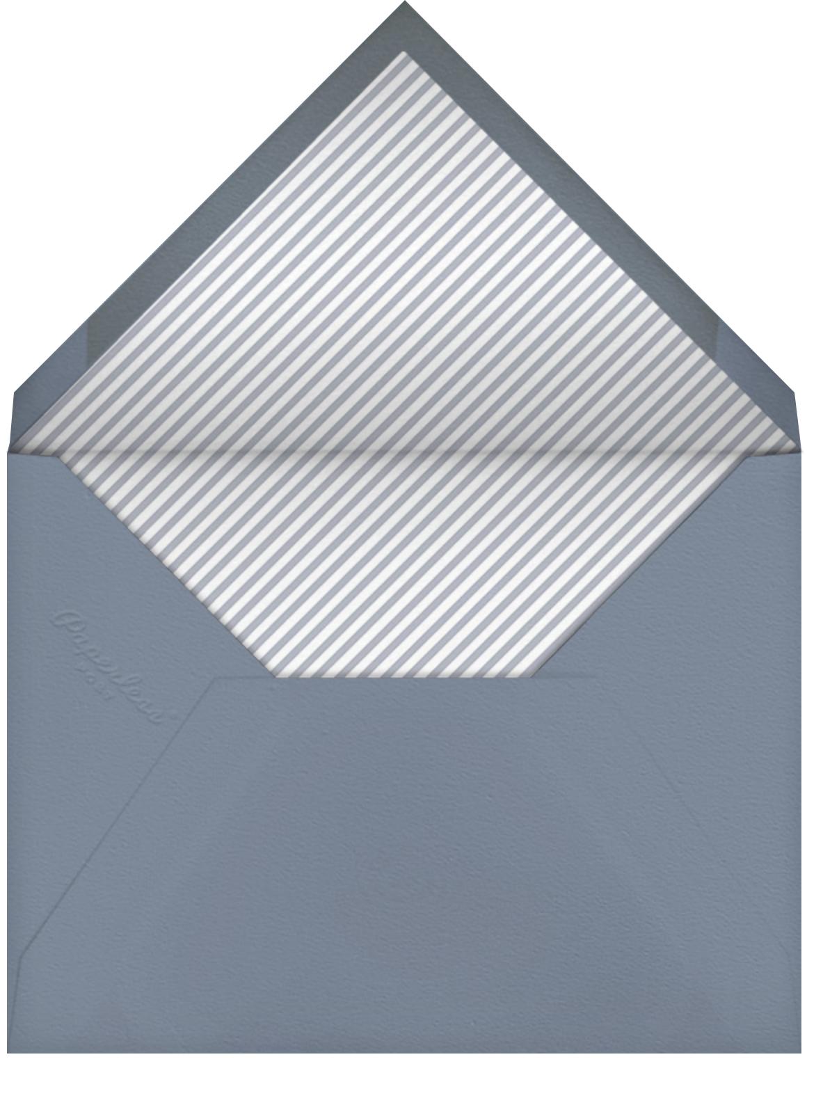 Snowdrift - Spring Rain - Paperless Post - Envelope