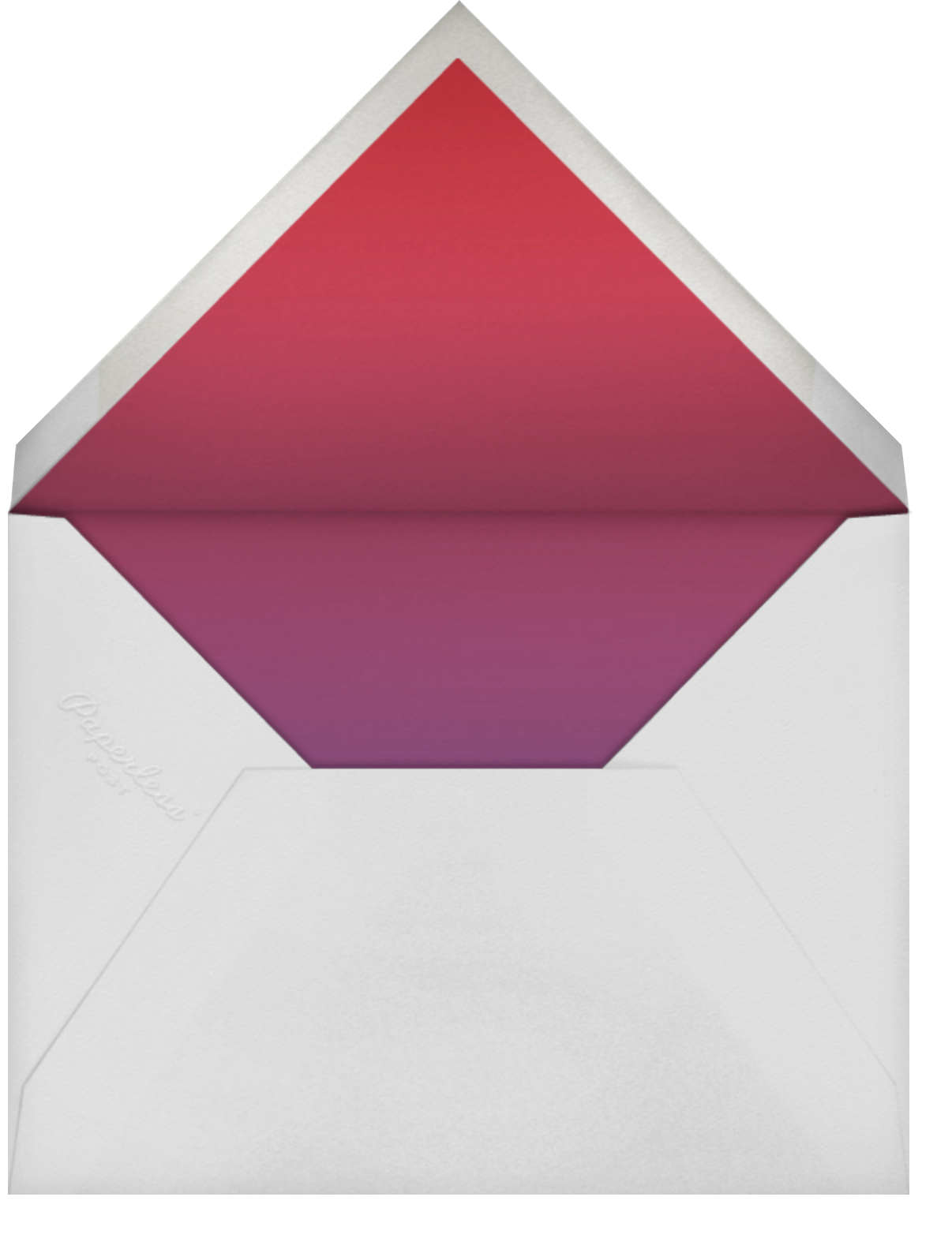 Color Wars - Paperless Post - Election night - envelope back