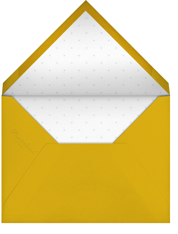 Snowbird - Paperless Post - Winter entertaining - envelope back