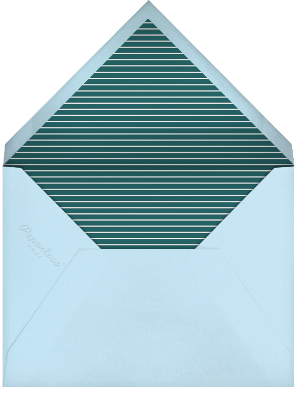 Southern Lights - Paperless Post - Winter entertaining - envelope back
