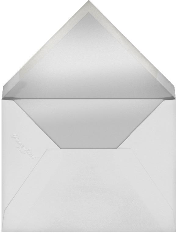 Avant-Garde Christmas (Tall Multi-Photo) - Gold - Paperless Post - Envelope