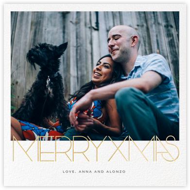 Avant-Garde Christmas (Square) - Paperless Post -