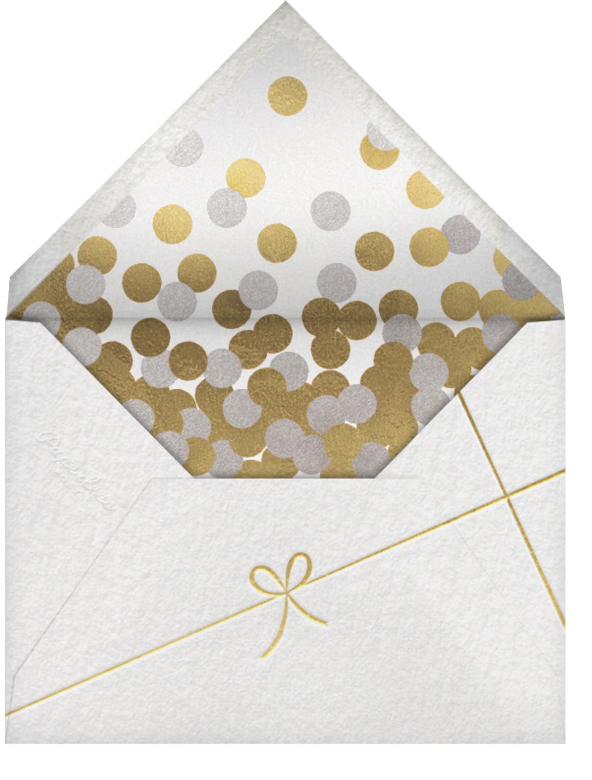 Avant-Garde Holiday (Horizontal) - Paperless Post - Envelope