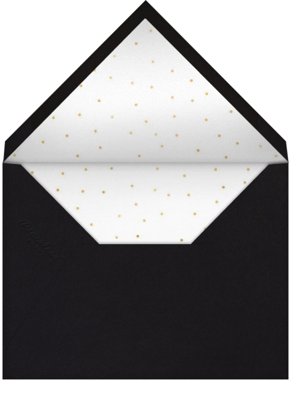 Hocus Pocus - Gold - Sugar Paper - Halloween - envelope back