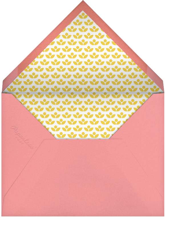 Valentine Parade - Petit Collage - Valentine's Day - envelope back