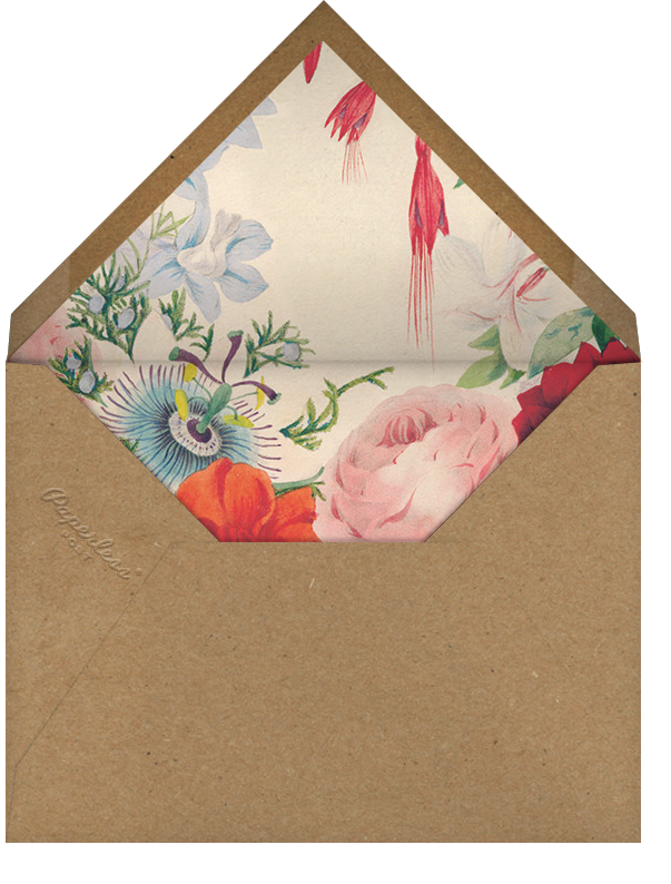Spring Medley (Invitation) - John Derian - All - envelope back