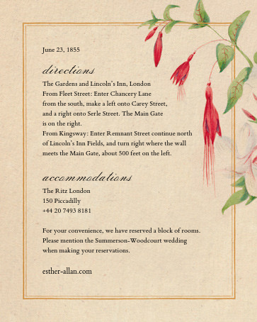 Spring Medley (Invitation) - John Derian - All - insert front