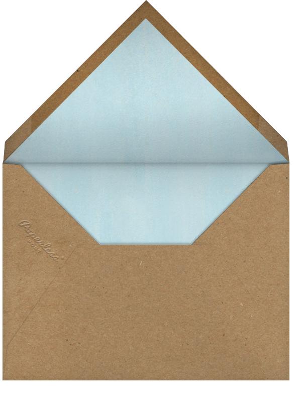 Lepidoptera (Invitation) - John Derian - Bridal shower - envelope back