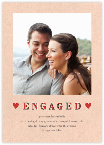 Engaged Hearts (Photo) - John Derian - John Derian stationery