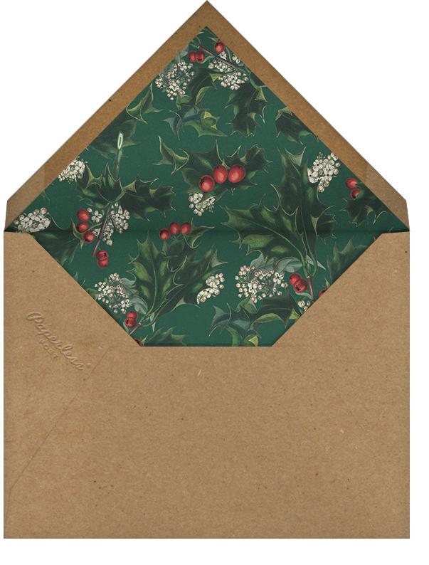 Deer's Leap - John Derian - Winter entertaining - envelope back