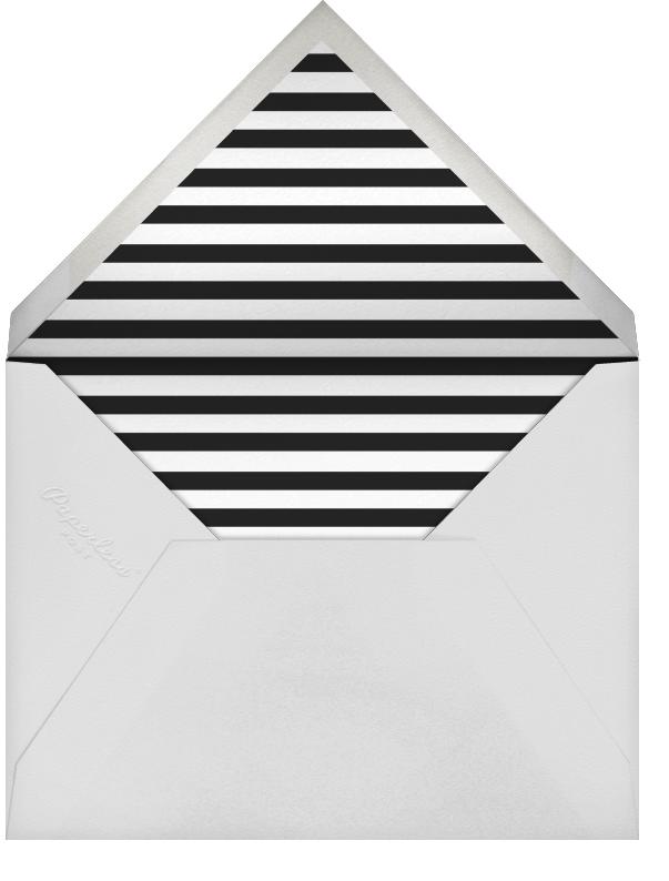 Quint - White/Rose Gold - Paperless Post - Wedding - envelope back