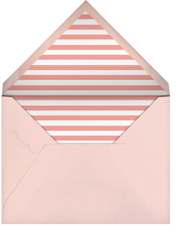 Quint - Papaya/Rose Gold - Paperless Post - Envelope