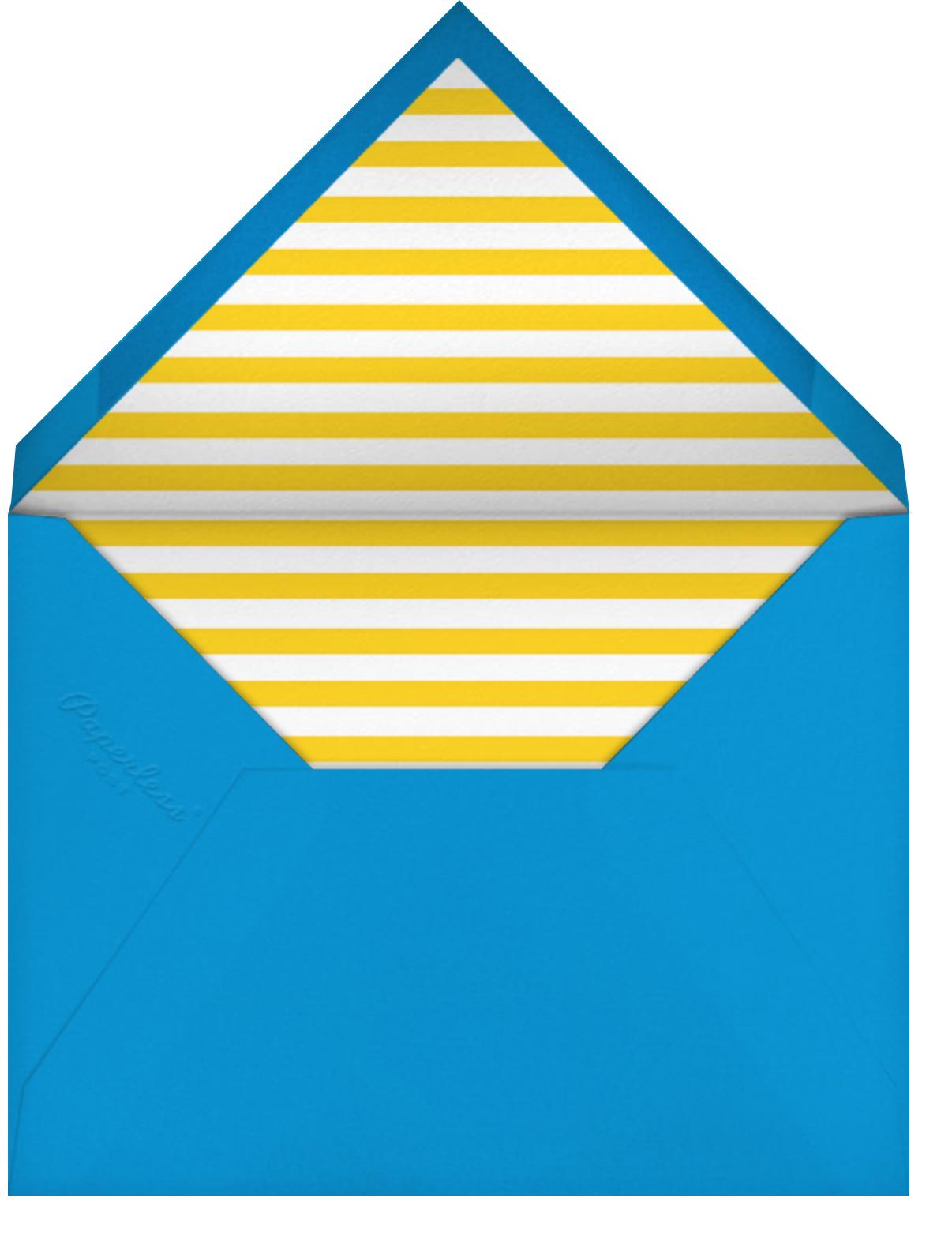 Quint - Citrus/Gold - Paperless Post - Kids' birthday - envelope back