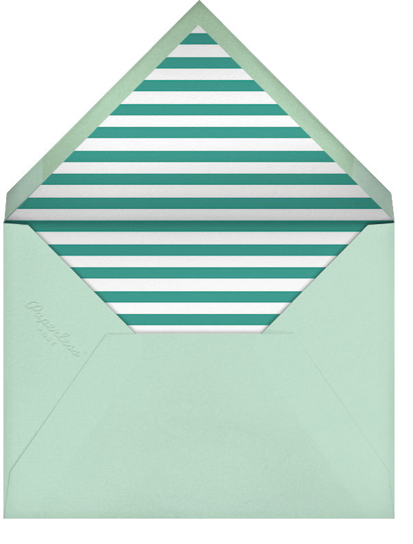 Quint - Mint/Gold - Paperless Post - Kids' birthday - envelope back