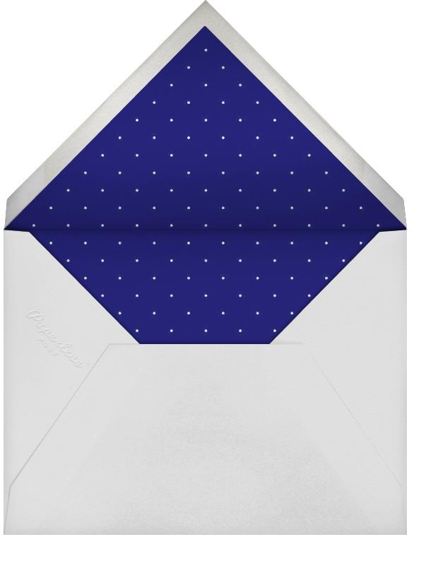 Quint - Royal Blue/Silver - Paperless Post - Hanukkah - envelope back