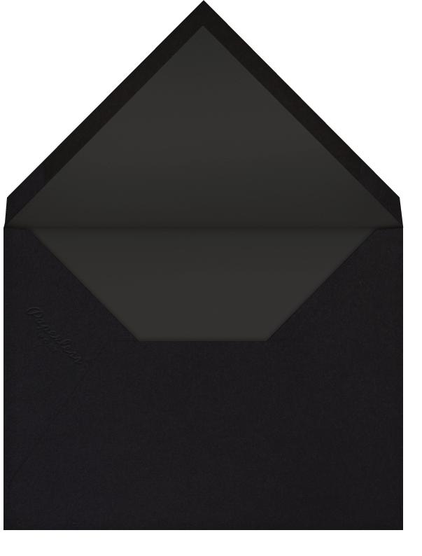 Carreaux (Multi-Photo) - White/Silver - Paperless Post - Photo  - envelope back