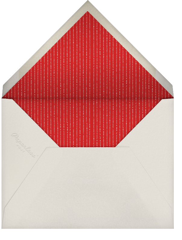 Next Stop: Christmas - Paperless Post - Christmas - envelope back