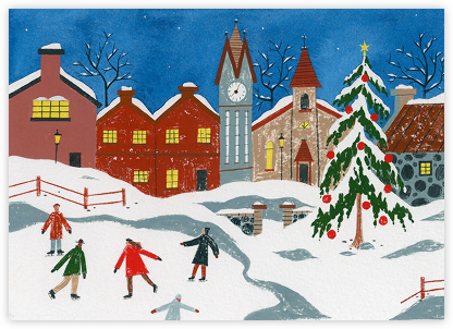 Christmas Square - Paperless Post -