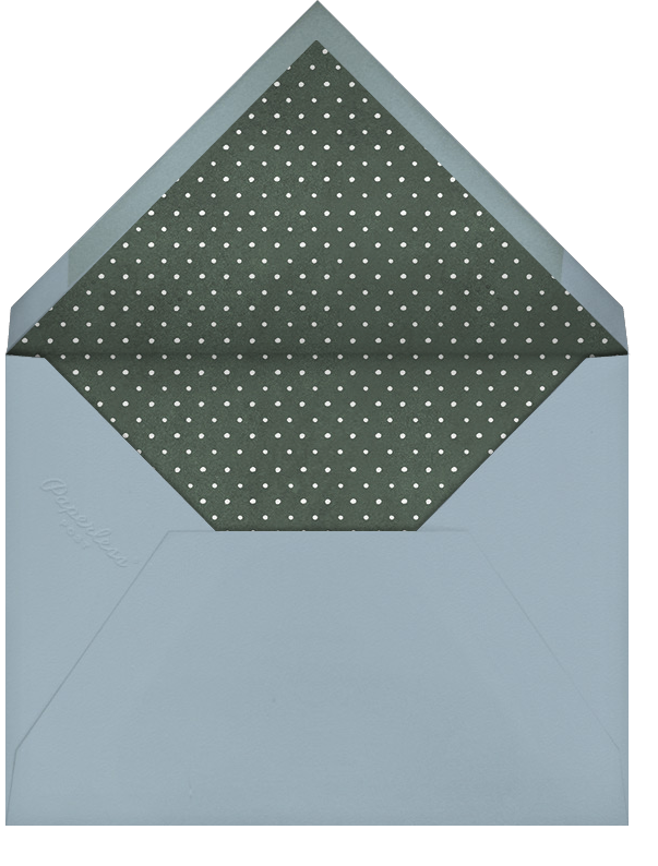 Holiday Hall - Paperless Post - Christmas - envelope back