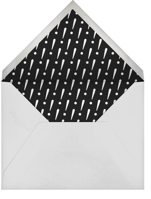 Five Dancing Photo Strips - Paperless Post - Kids' birthday - envelope back