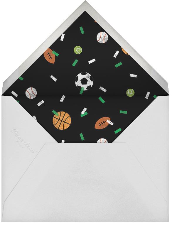 Letterpress Field - Paperless Post - Sports - envelope back