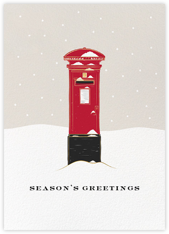 Pillar Box - Paperless Post - Holiday cards