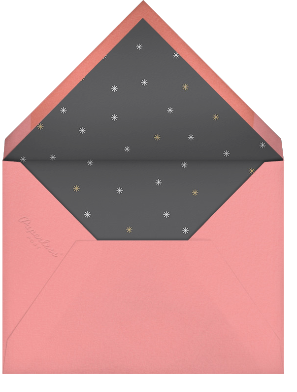 Éclat - White/Rose Gold - Paperless Post - Adult birthday - envelope back