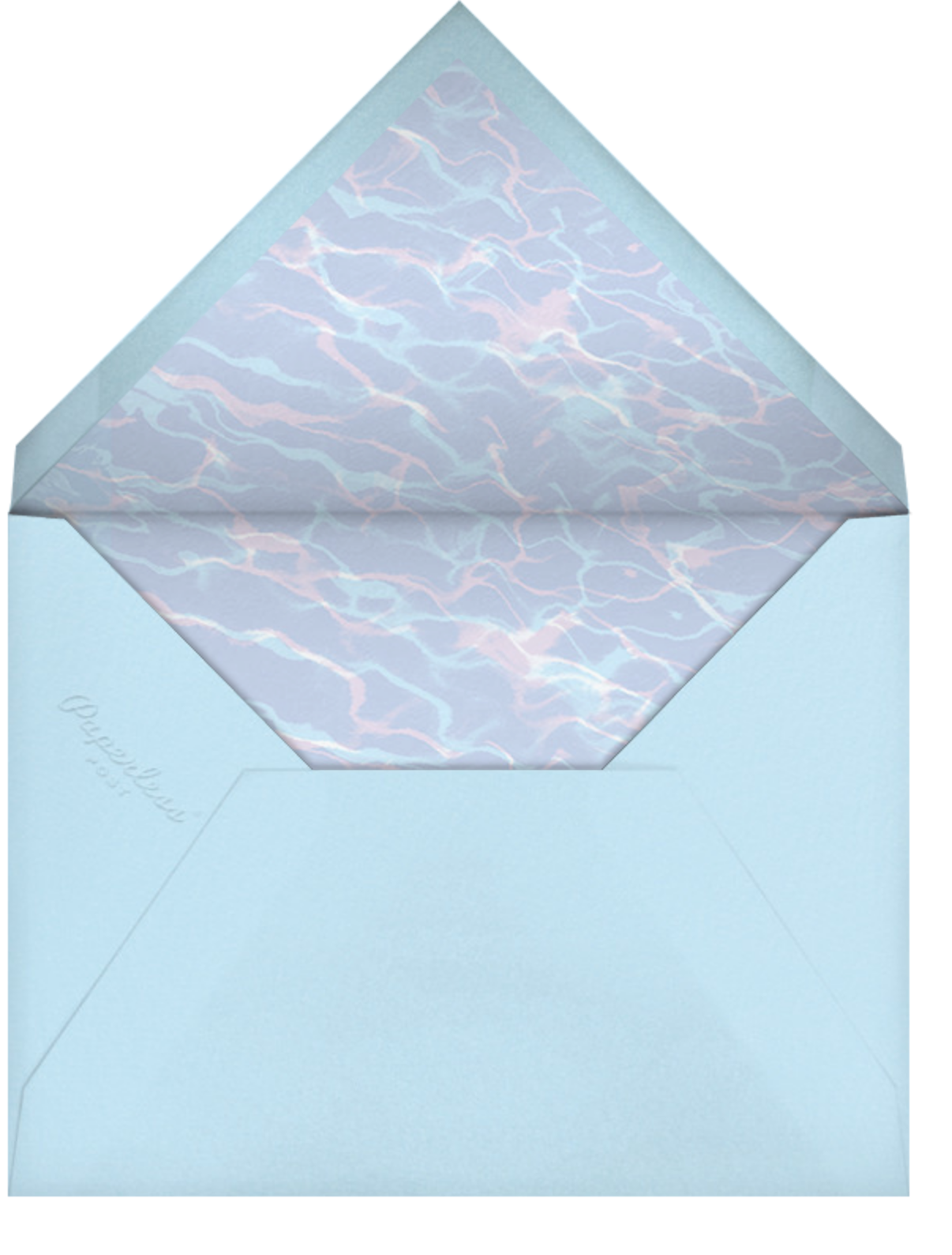 Full-Page Photo (Single-Sided) - Horizontal - Paperless Post - Adult birthday - envelope back