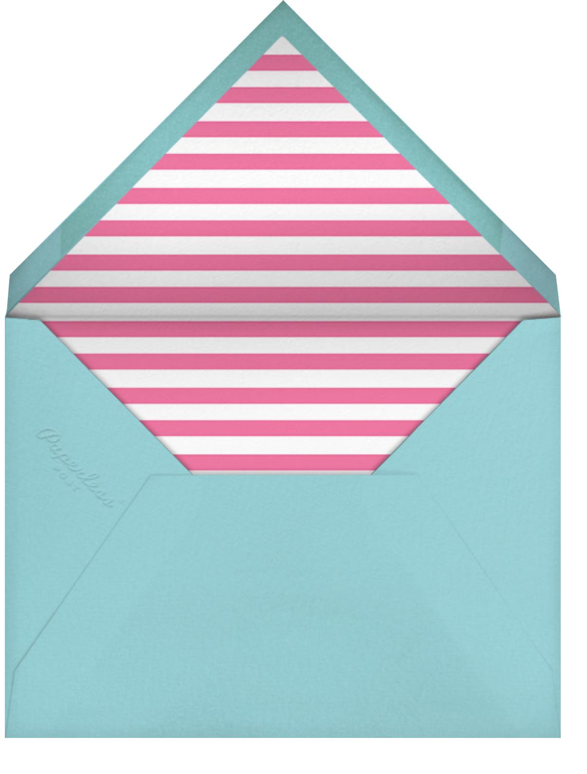 Mylar Party - Multi - Paperless Post - Kids' birthday - envelope back