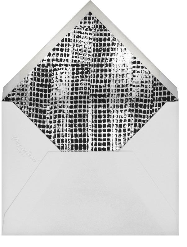 Allegro - Ivory/Black - Kelly Wearstler - Save the date - envelope back