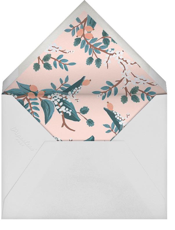 Mandarin Grove - Rifle Paper Co. - Engagement party - envelope back