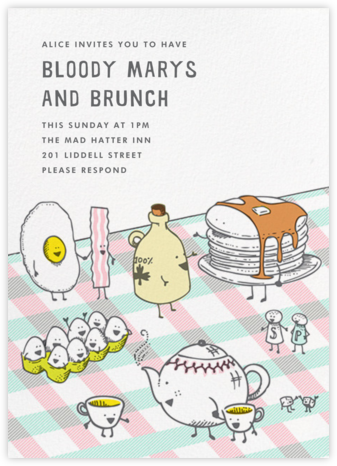 Brunch Brigade - Hello!Lucky - Brunch invitations